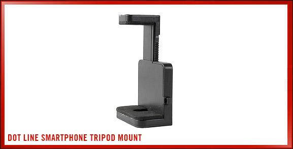 Dot Line Smartphone Tripod Mount