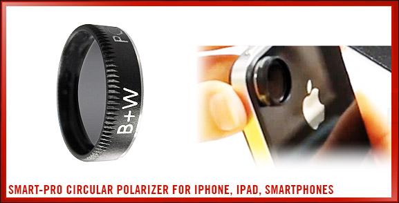 Smart-Pro Circular Polarizer for iPhone, iPad, Smartphones