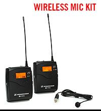 Sennheiser EW 112-P G3 Wireless Lavalier Microphone Kit