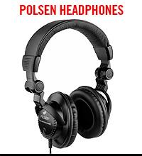 Polson Closed-Back Studio Monitor Headphones